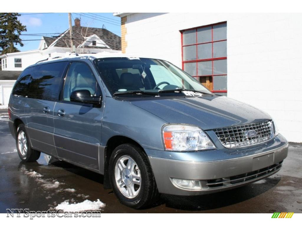 Medium Steel Blue Metallic Flint Grey Ford Freestar Limited