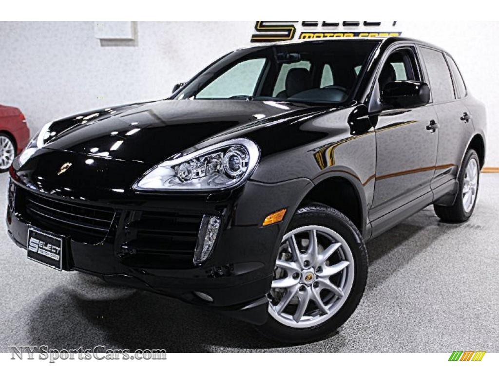 2008 porsche cayenne s in black a51438 cars for sale in new york. Black Bedroom Furniture Sets. Home Design Ideas