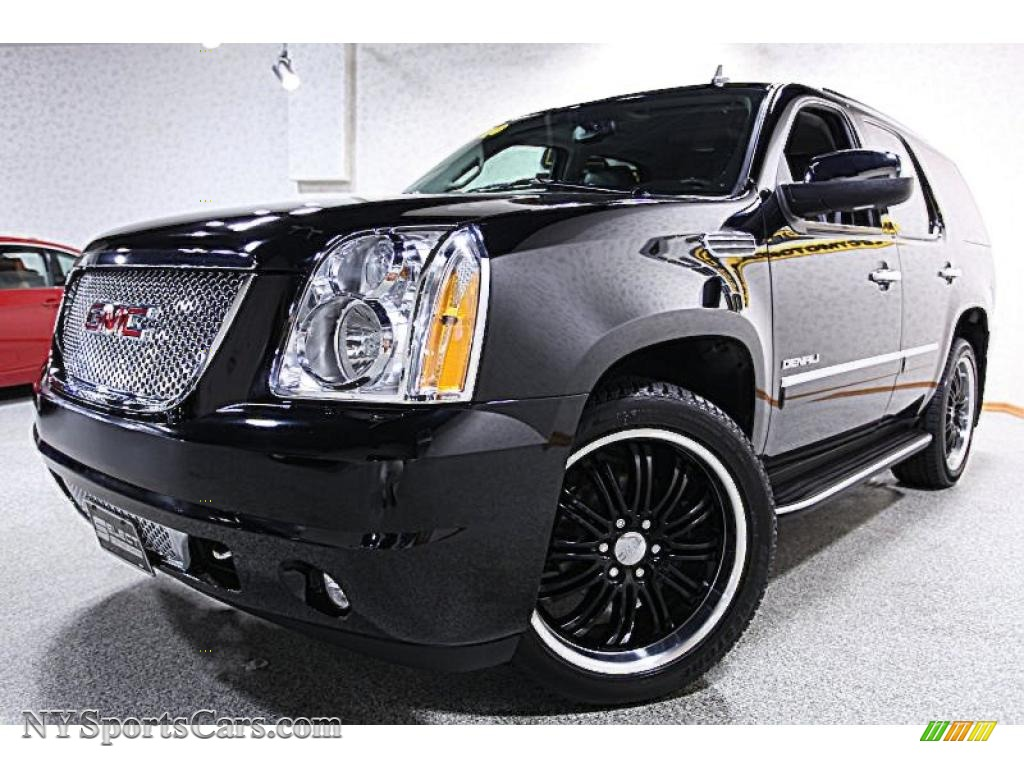 2010 gmc yukon denali awd in onyx black 104419 cars for sale in new york. Black Bedroom Furniture Sets. Home Design Ideas