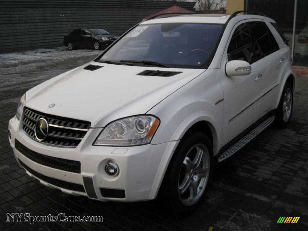 2007 mercedes benz ml 63 amg 4matic in alabaster white 777113 cars for. Black Bedroom Furniture Sets. Home Design Ideas
