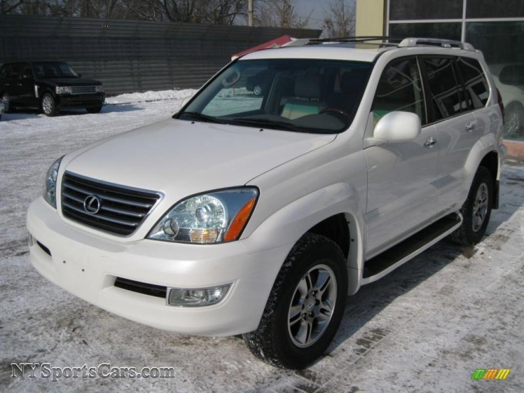 2007 lexus gx 470 in blizzard white pearl 777114 cars for sale in new york. Black Bedroom Furniture Sets. Home Design Ideas
