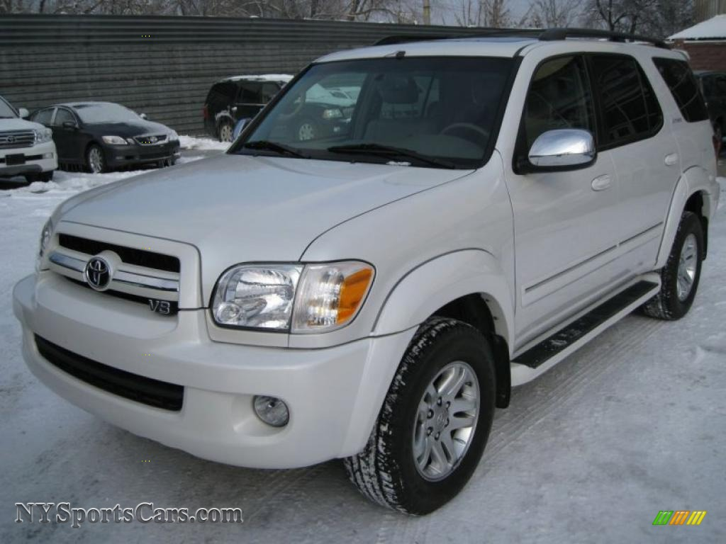 2007 toyota sequoia limited 4wd in super white 777118 cars for sale in. Black Bedroom Furniture Sets. Home Design Ideas