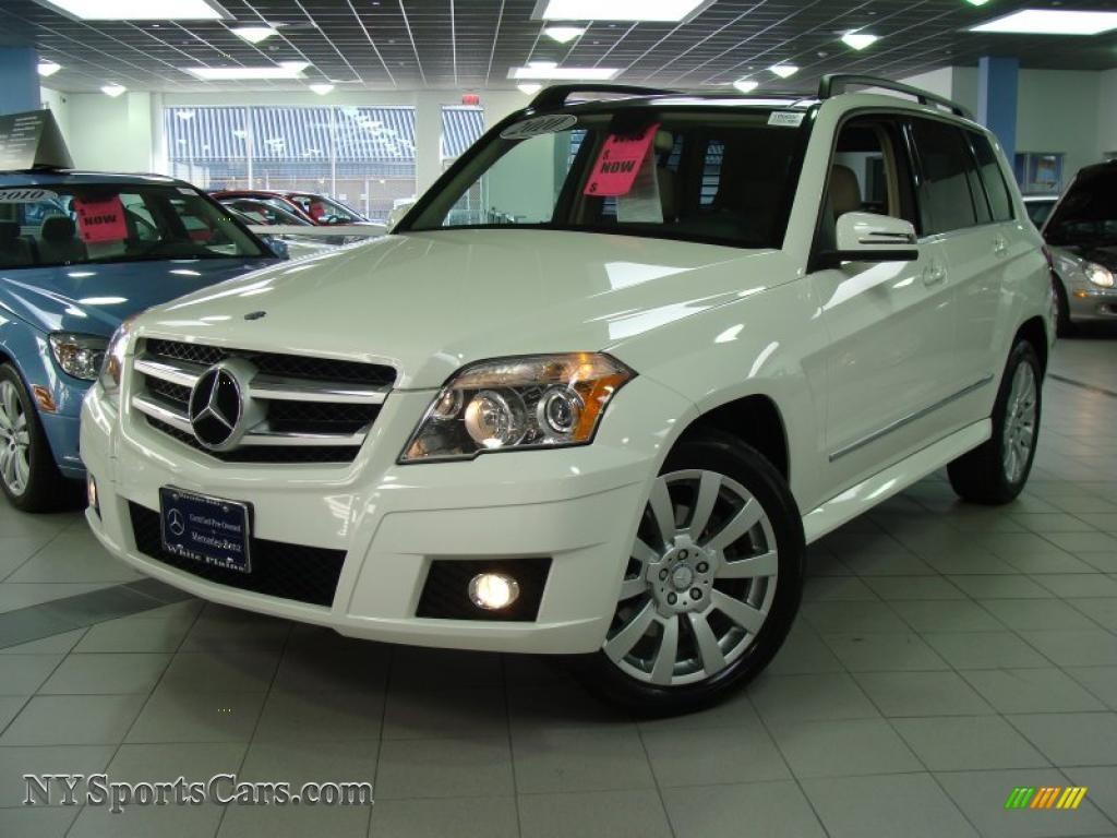 2010 mercedes benz glk 350 4matic in arctic white 418996 cars for sale in. Black Bedroom Furniture Sets. Home Design Ideas