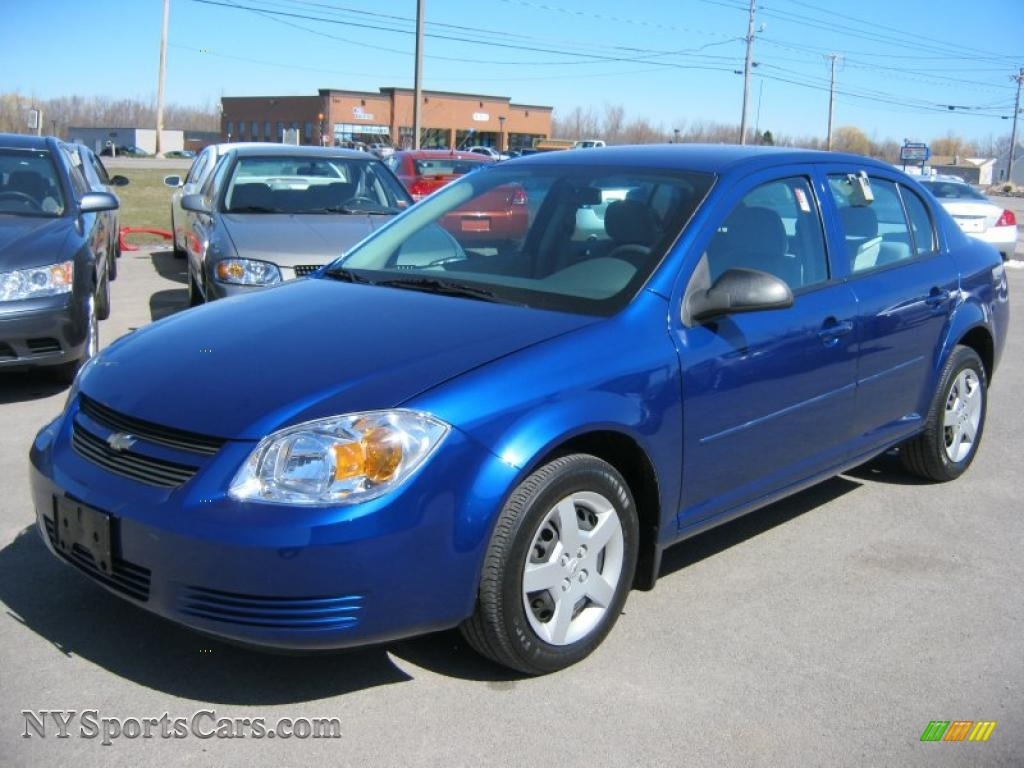 2005 Chevrolet Cobalt Sedan In Arrival Blue Metallic 656573