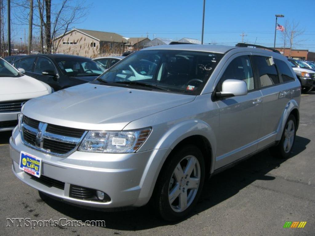 2010 Dodge Journey Sxt Awd In Bright Silver Metallic