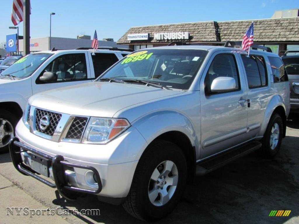 2005 nissan pathfinder xe 4x4 in silver lightning metallic. Black Bedroom Furniture Sets. Home Design Ideas