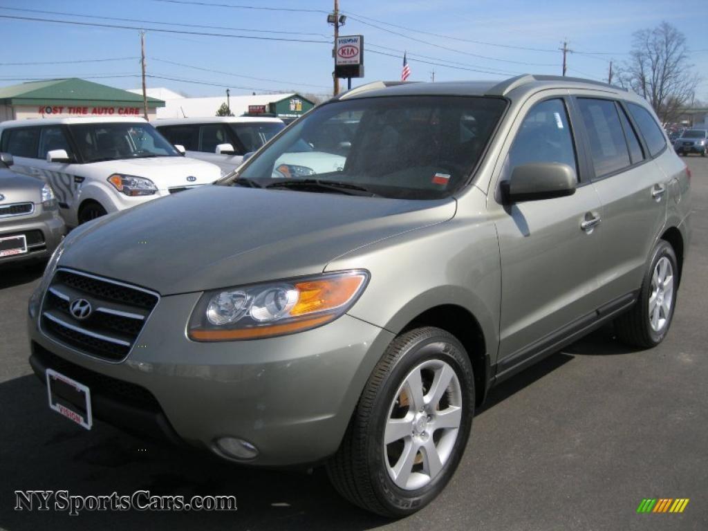 2008 Hyundai Santa Fe Limited 4WD in Natural Khaki Green ...