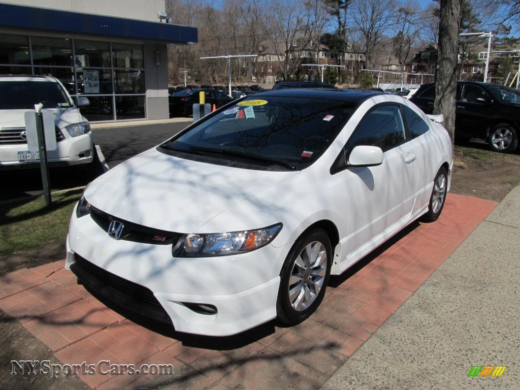 2008 honda civic si coupe in taffeta white photo 23 708286 cars for sale. Black Bedroom Furniture Sets. Home Design Ideas