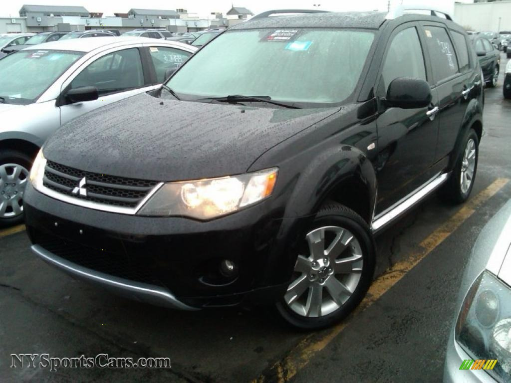 2008 mitsubishi outlander se 4wd in labrador black pearl 010450 cars for. Black Bedroom Furniture Sets. Home Design Ideas