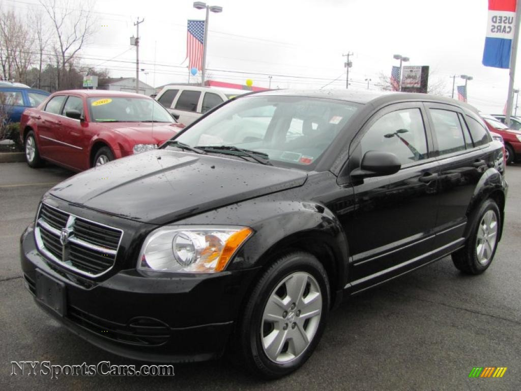 2007 dodge caliber sxt in black 314604 cars for sale in new york. Black Bedroom Furniture Sets. Home Design Ideas