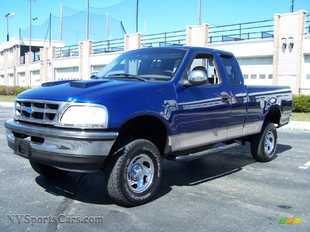 1997 ford f150 xl extended cab in moonlight blue metallic. Black Bedroom Furniture Sets. Home Design Ideas