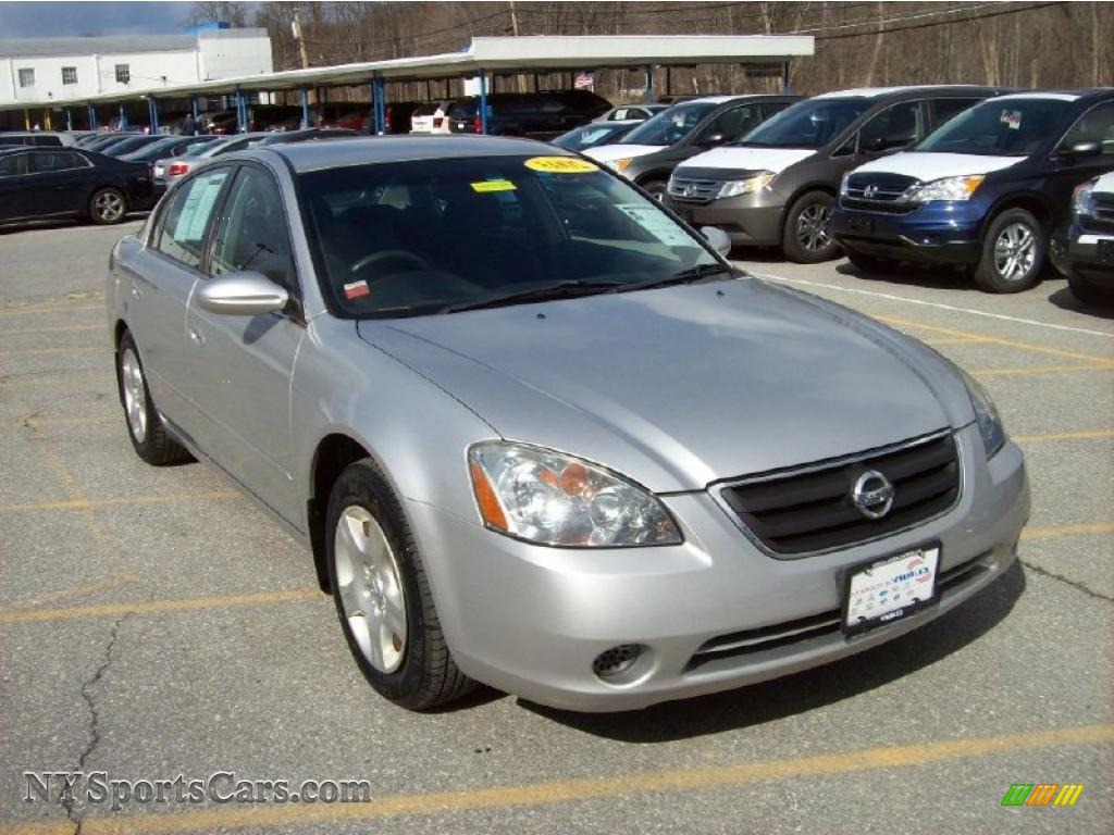 2003 nissan altima 25 s in sheer silver metallic 257484 sheer silver metallic charcoal nissan altima 25 s vanachro Images