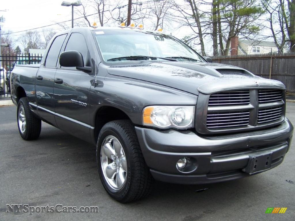2002 dodge ram 1500 sport quad cab 4x4 in graphite metallic photo 3 155520. Black Bedroom Furniture Sets. Home Design Ideas