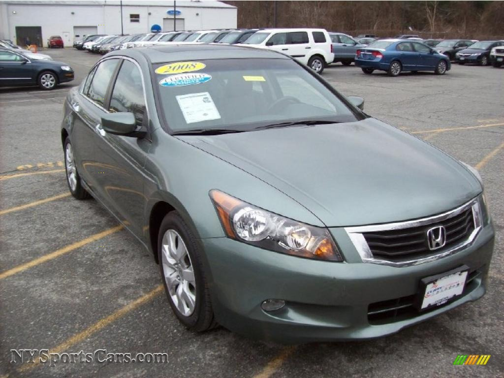 2008 Honda Accord Ex L V6 Sedan In Mystic Green Metallic