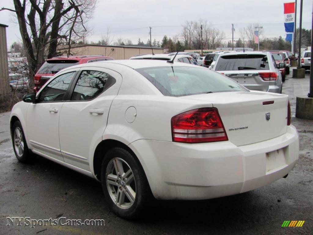 2008 Dodge Avenger Sxt In Stone White Photo 2 682915