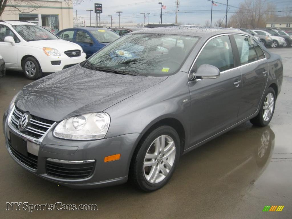 2007 Volkswagen Jetta Wolfsburg Edition Sedan in Platinum Grey Metallic - 136216 | NYSportsCars ...