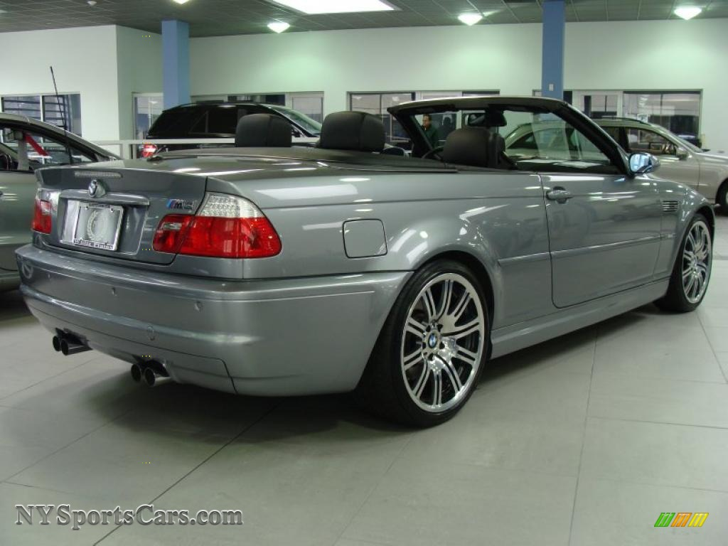 2006 bmw m3 convertible in silver grey metallic photo 4. Black Bedroom Furniture Sets. Home Design Ideas