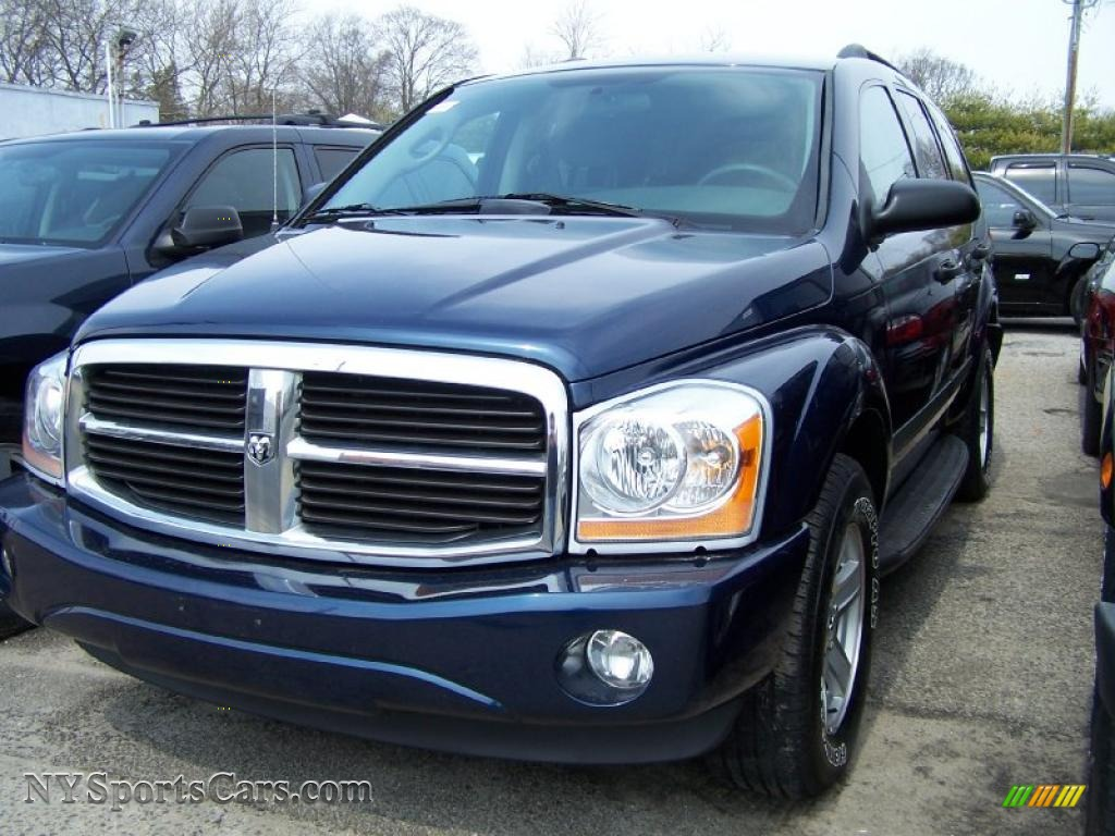 2006 dodge durango slt 4x4 in patriot blue pearl 114548. Black Bedroom Furniture Sets. Home Design Ideas