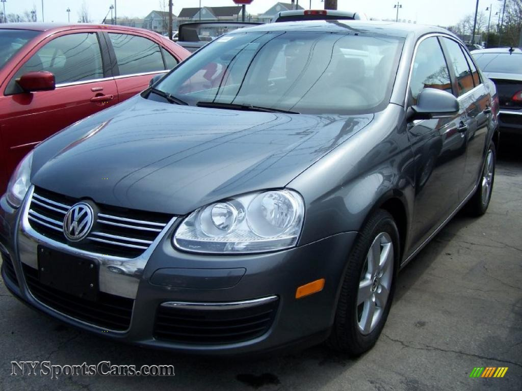 2008 Volkswagen Jetta Se Sedan In Platinum Grey Metallic