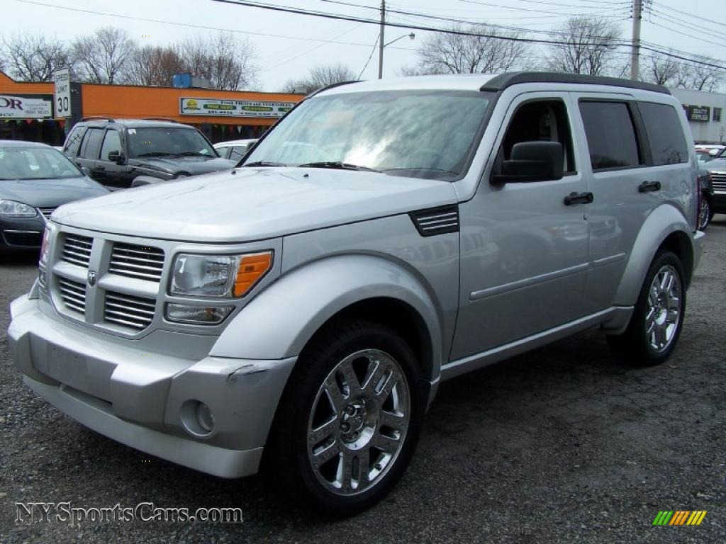 Bright Silver Metallic / Dark Slate Gray Dodge Nitro R/T 4x4