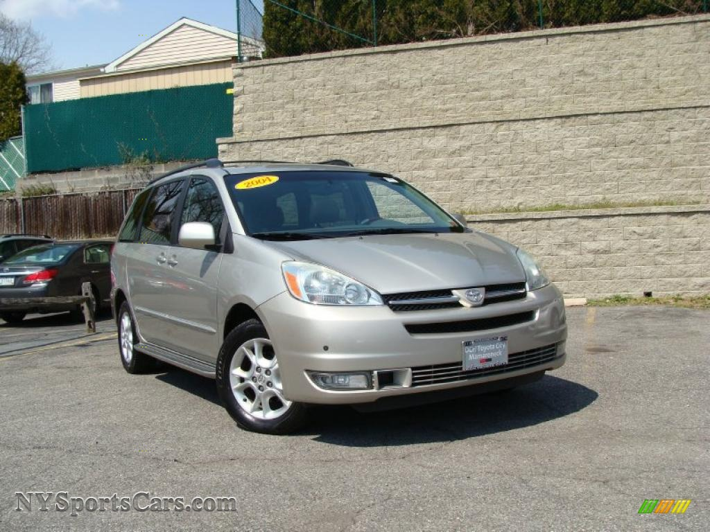 2004 sienna xle limited awd silver shadow pearl stone gray photo 1