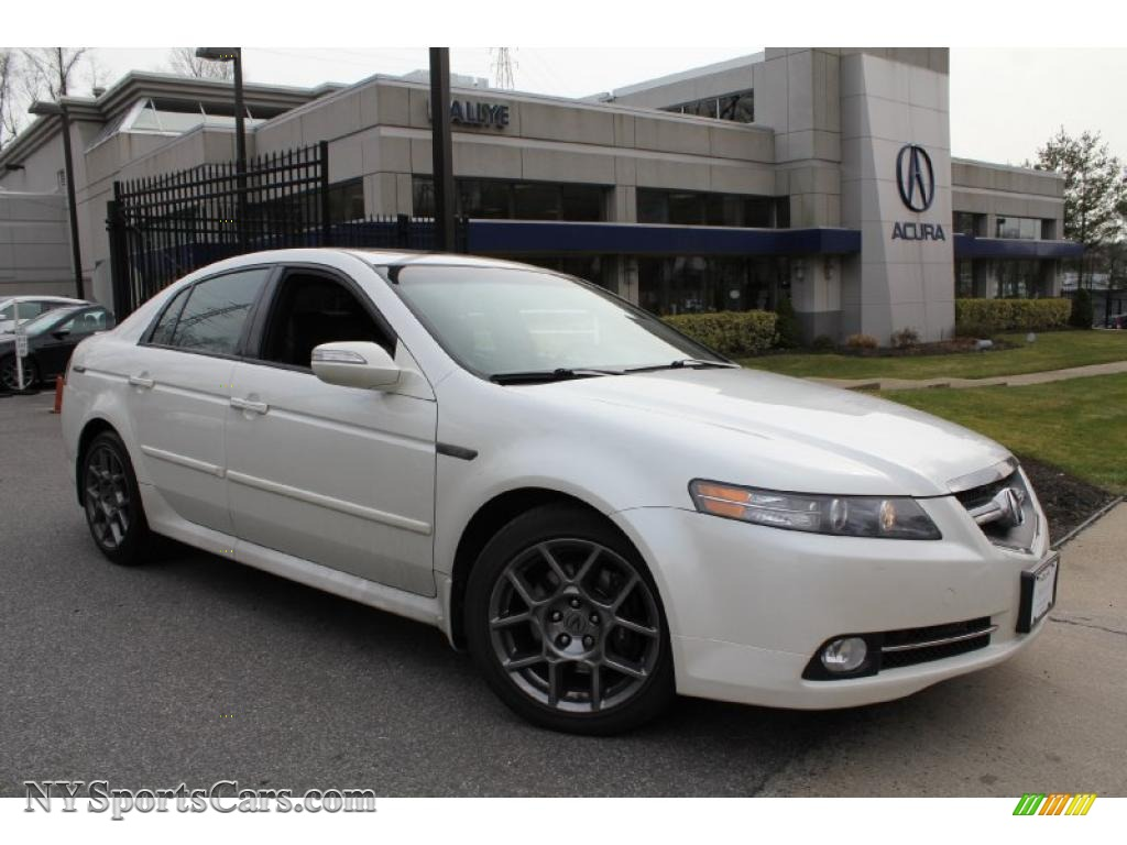 2008 Acura Tl 3 5 Type S In White Diamond Pearl 021501