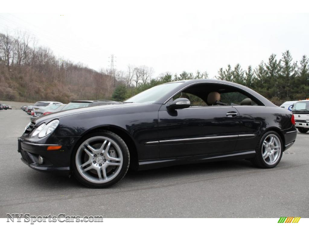 2009 Mercedes Benz Clk 550 Coupe In Majestic Black