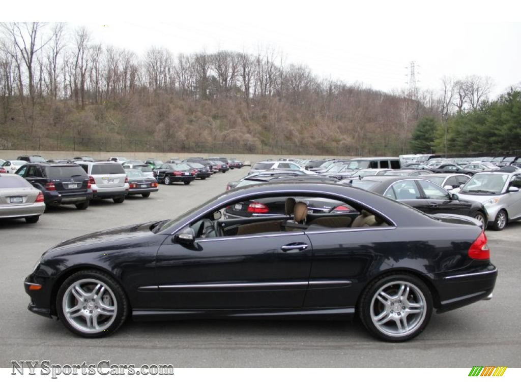 2009 mercedes benz clk 550 coupe in majestic black for Mercedes benz clk500 for sale