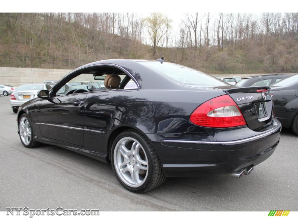 2009 mercedes benz clk 550 coupe in majestic black for Mercedes benz clk 2009