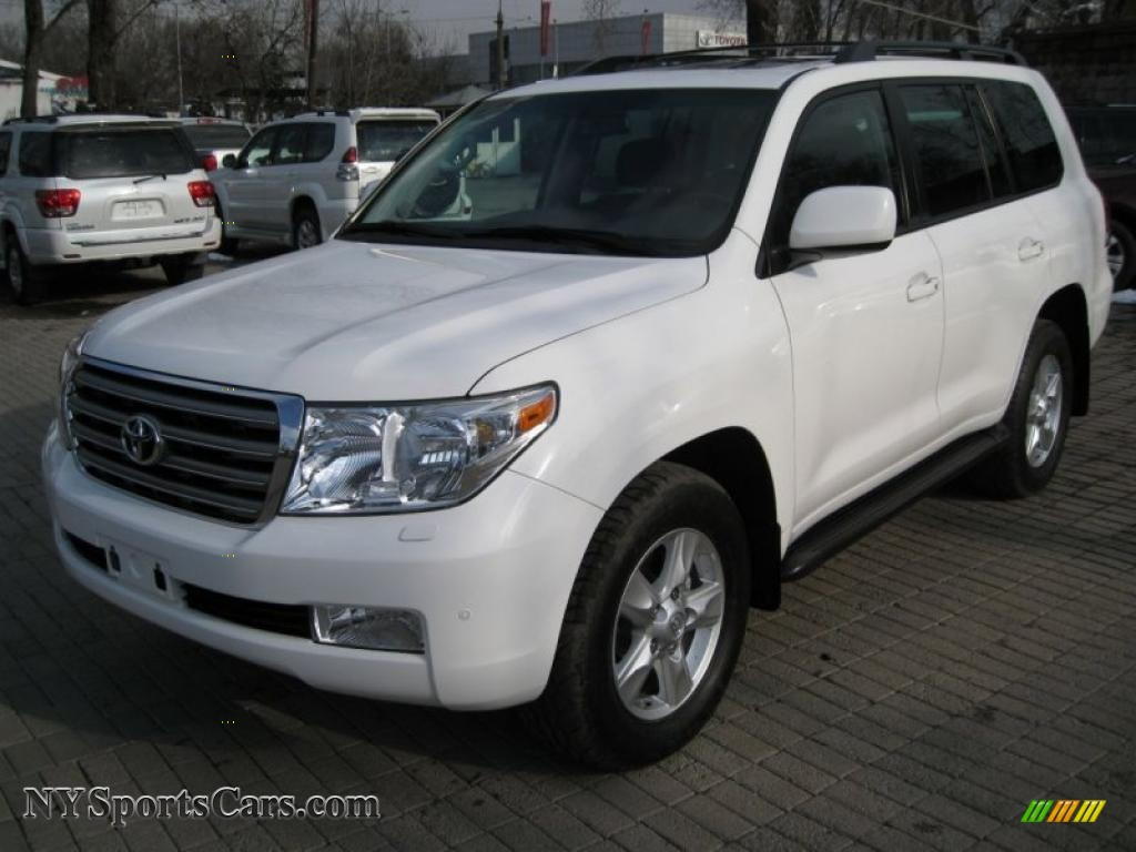 2007 toyota land cruiser in natural white 463nbg. Black Bedroom Furniture Sets. Home Design Ideas