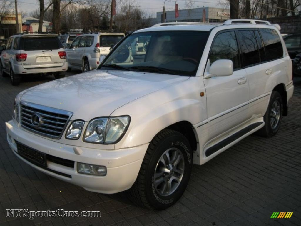 2007 lexus lx 470 in crystal white photo 6 884nhf cars for sale in new york. Black Bedroom Furniture Sets. Home Design Ideas