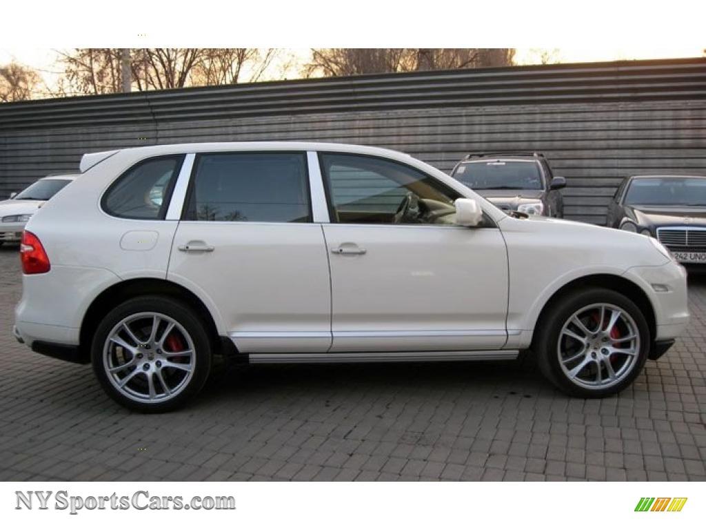 2008 cayenne turbo sand white havannasand beige photo 4 - Porsche Cayenne Turbo White