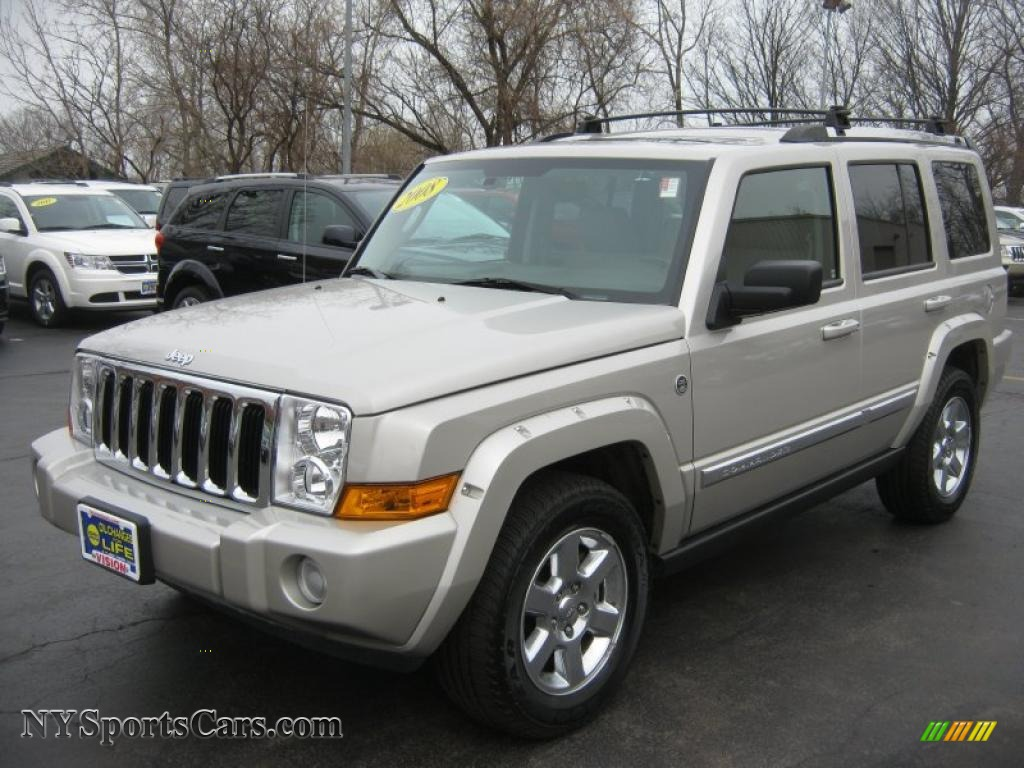 2008 jeep commander limited 4x4 in light graystone pearl 236370 cars for. Black Bedroom Furniture Sets. Home Design Ideas