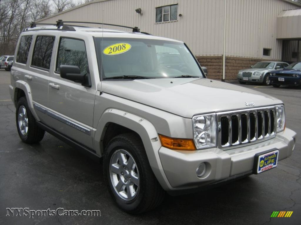 2008 jeep commander limited 4x4 in light graystone pearl photo 20 236370. Black Bedroom Furniture Sets. Home Design Ideas