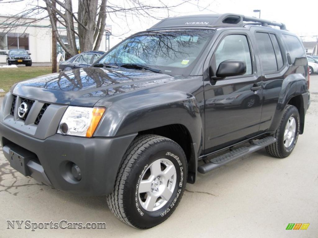 2008 Nissan Xterra X 4x4 In Night Armor Dark Gray 539612