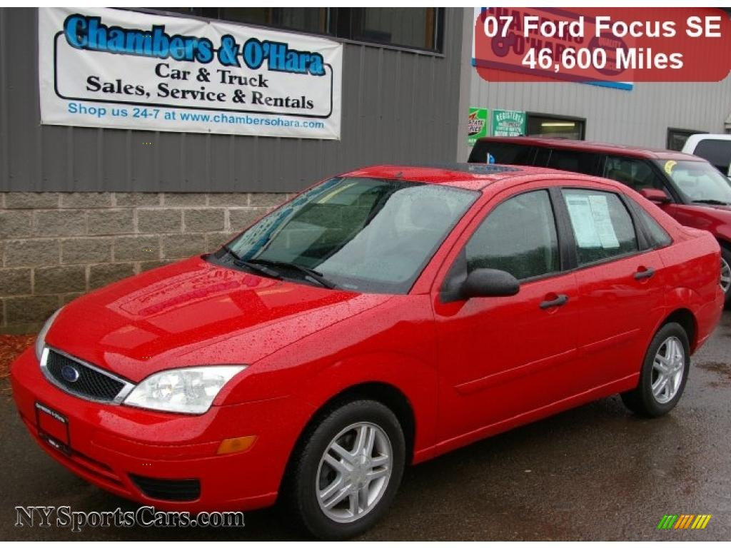 infra red charcoallight flint ford focus zx4 se sedan - Ford Focus 2007 Sedan