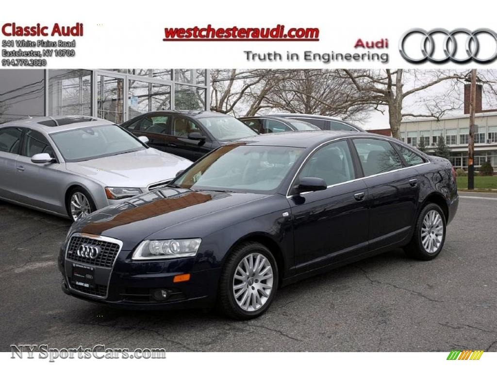 2008 Audi A6 3.2 quattro Sedan in Night Blue Pearl Effect ...