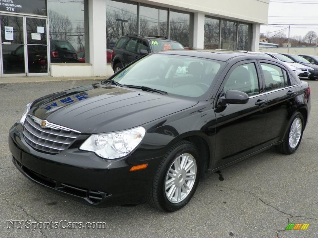 2009 Chrysler Sebring Touring Sedan In Brilliant Black
