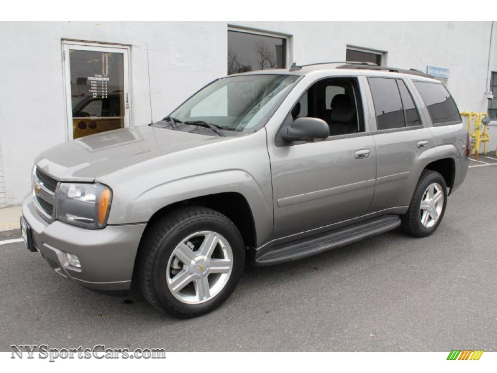 2008 chevrolet trailblazer lt 4x4 in graystone metallic 101909 cars for. Black Bedroom Furniture Sets. Home Design Ideas