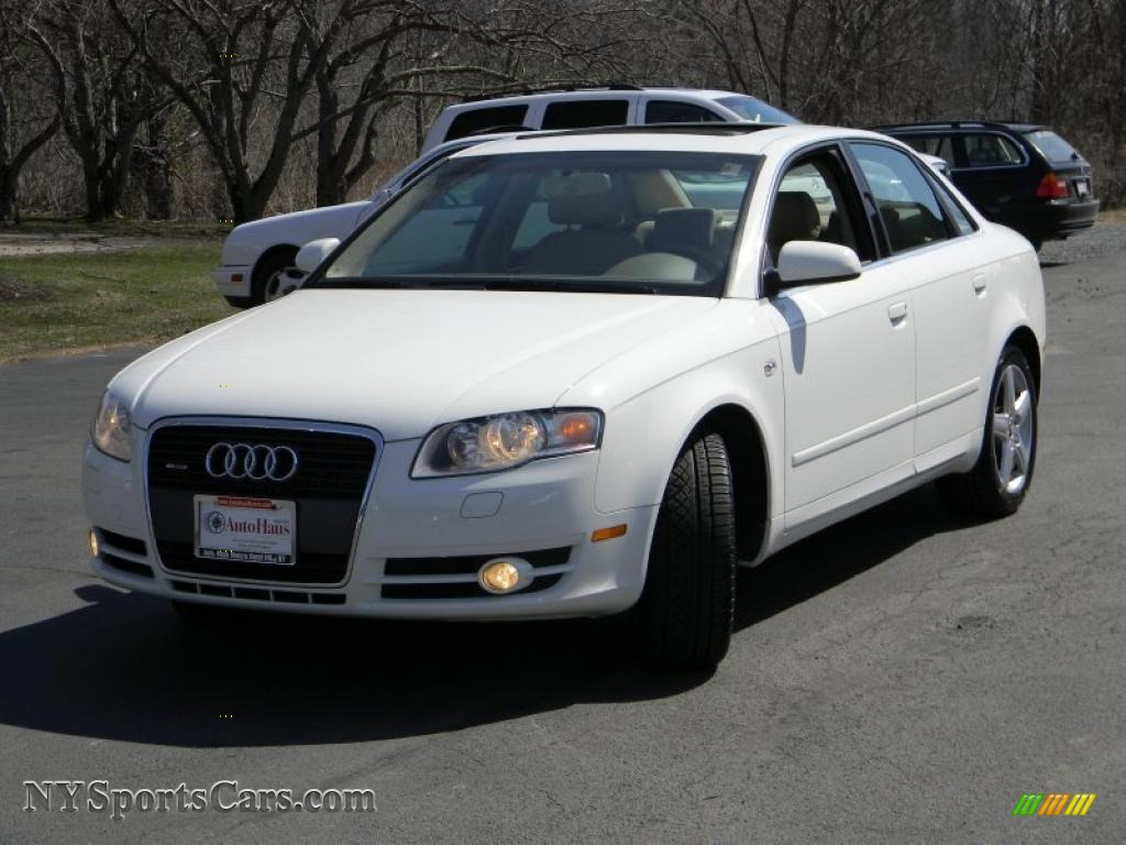 2005 audi a4 2 0t quattro sedan in arctic white 538358. Black Bedroom Furniture Sets. Home Design Ideas