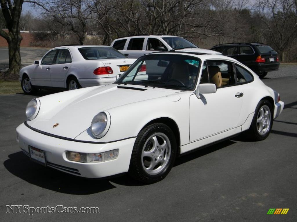 1991 porsche 911 carrera 4 coupe in grand prix white photo 16 410474. Black Bedroom Furniture Sets. Home Design Ideas