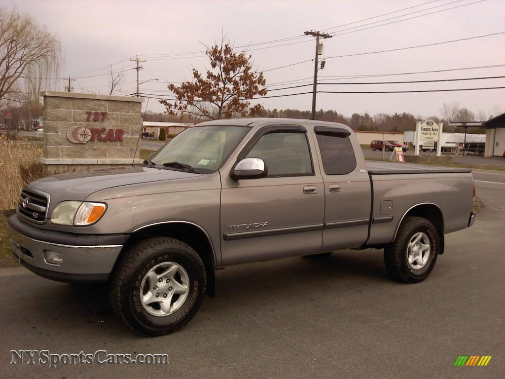 2000 toyota tundra sr5 extended cab 4x4 in thunder gray. Black Bedroom Furniture Sets. Home Design Ideas