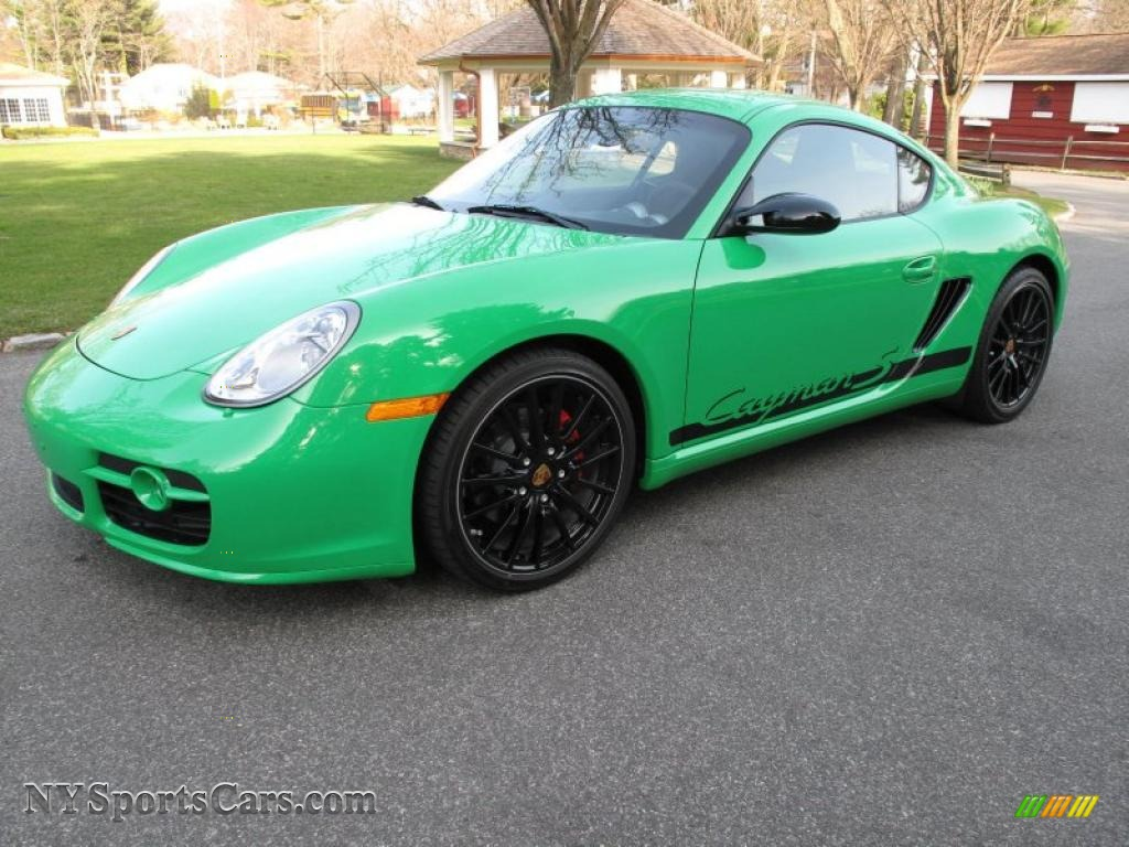 2008 porsche cayman s sport in green 783241 cars for sale in new york. Black Bedroom Furniture Sets. Home Design Ideas
