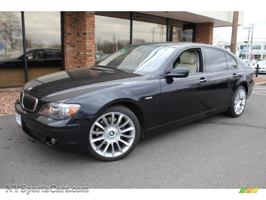 2008 bmw 7 series 750li sedan in jet black t78423 cars for sale in new york. Black Bedroom Furniture Sets. Home Design Ideas