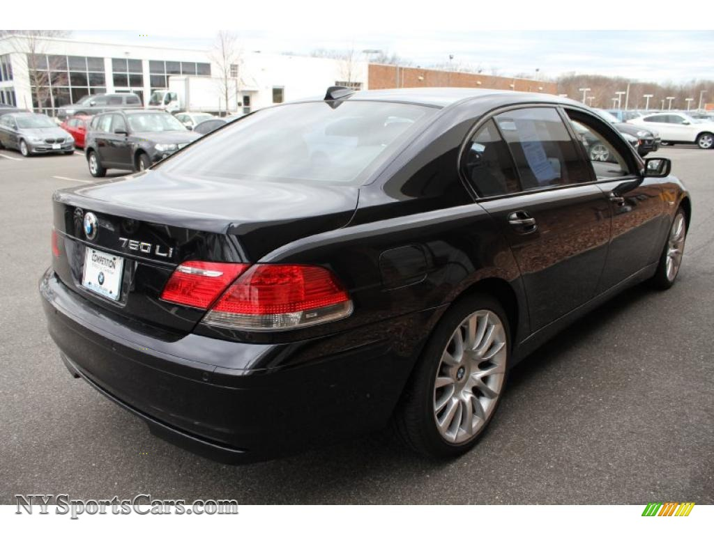 2008 bmw 7 series 750li sedan in jet black photo 6 t78423 cars for sale. Black Bedroom Furniture Sets. Home Design Ideas
