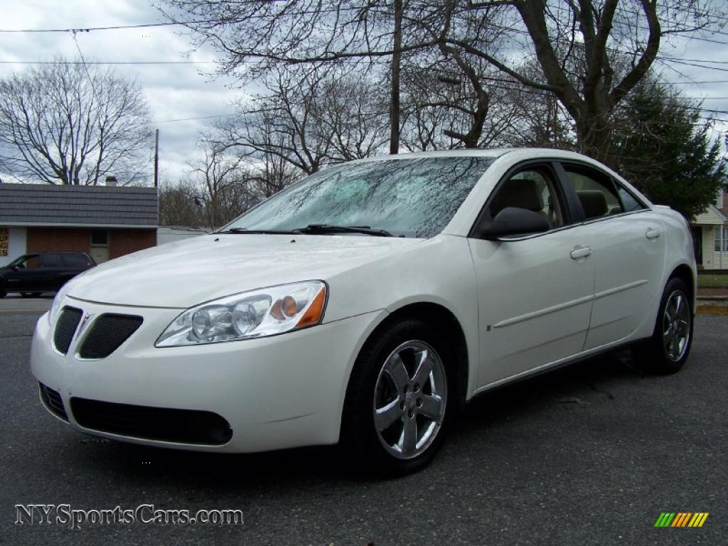 2007 Pontiac G6 Gt Sedan In Ivory White 255134