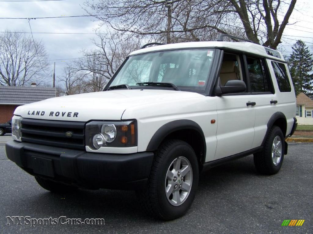 2003 land rover discovery s in chawton white 821679 cars for sale in new york. Black Bedroom Furniture Sets. Home Design Ideas
