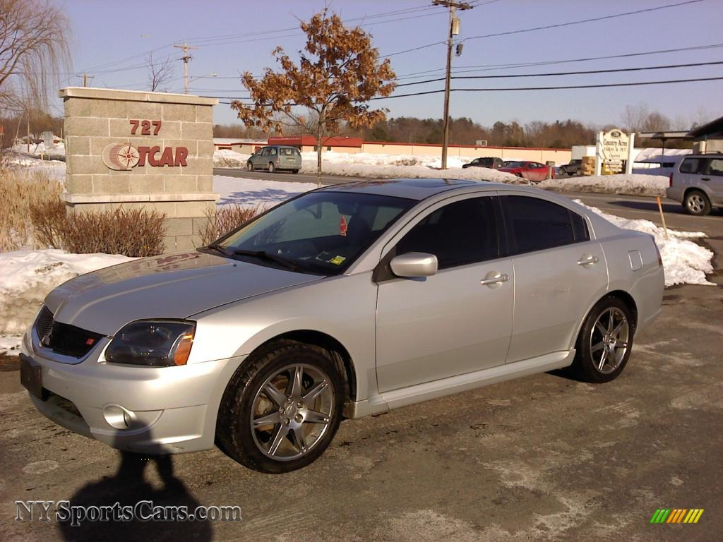 Sunset Orange Pearlescent 2007 Mitsubishi Galant RALLIART Exterior ...