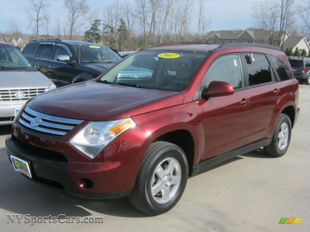 2007 Suzuki Xl7 Awd In Dark Cranberry Metallic 103275