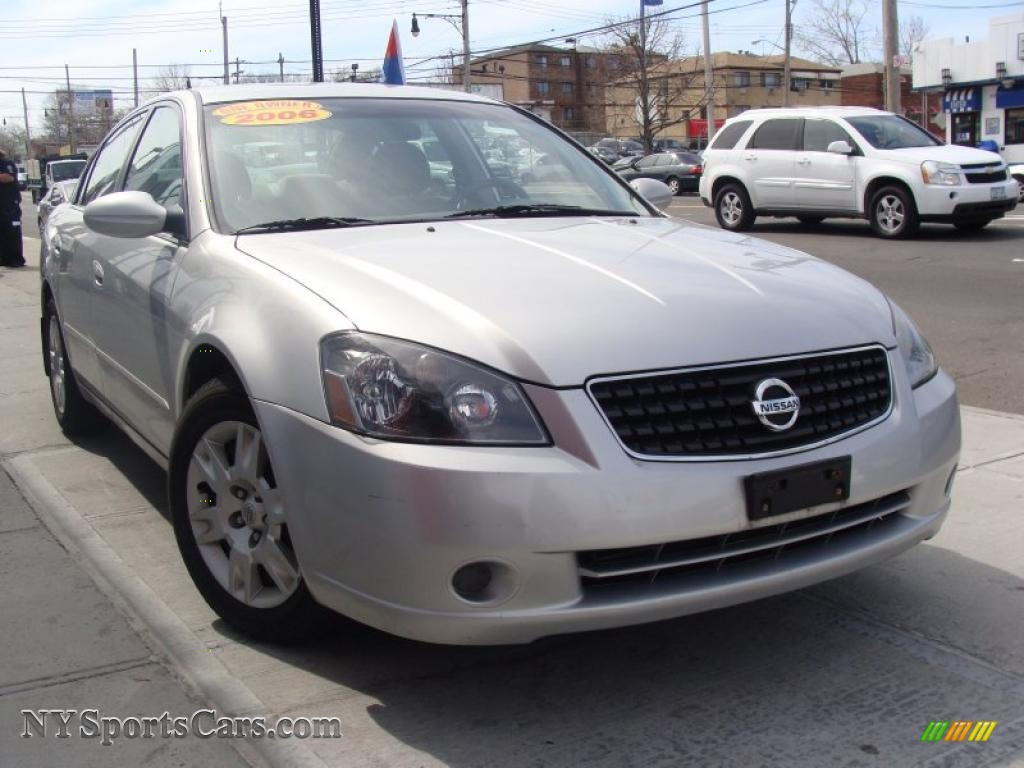 2006 Nissan Altima 2 5 S Special Edition In Sheer Silver